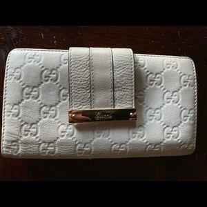 Authentic Leather Gucci Guccissma Wallet